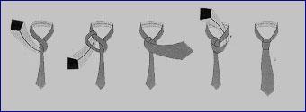Актуальный узел галстука