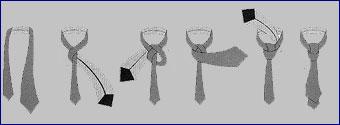Популярный узел галстука