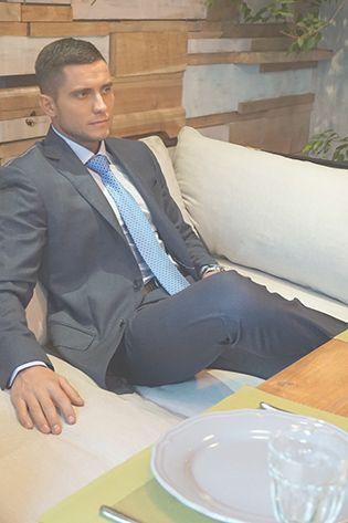 Мужской официальный костюм
